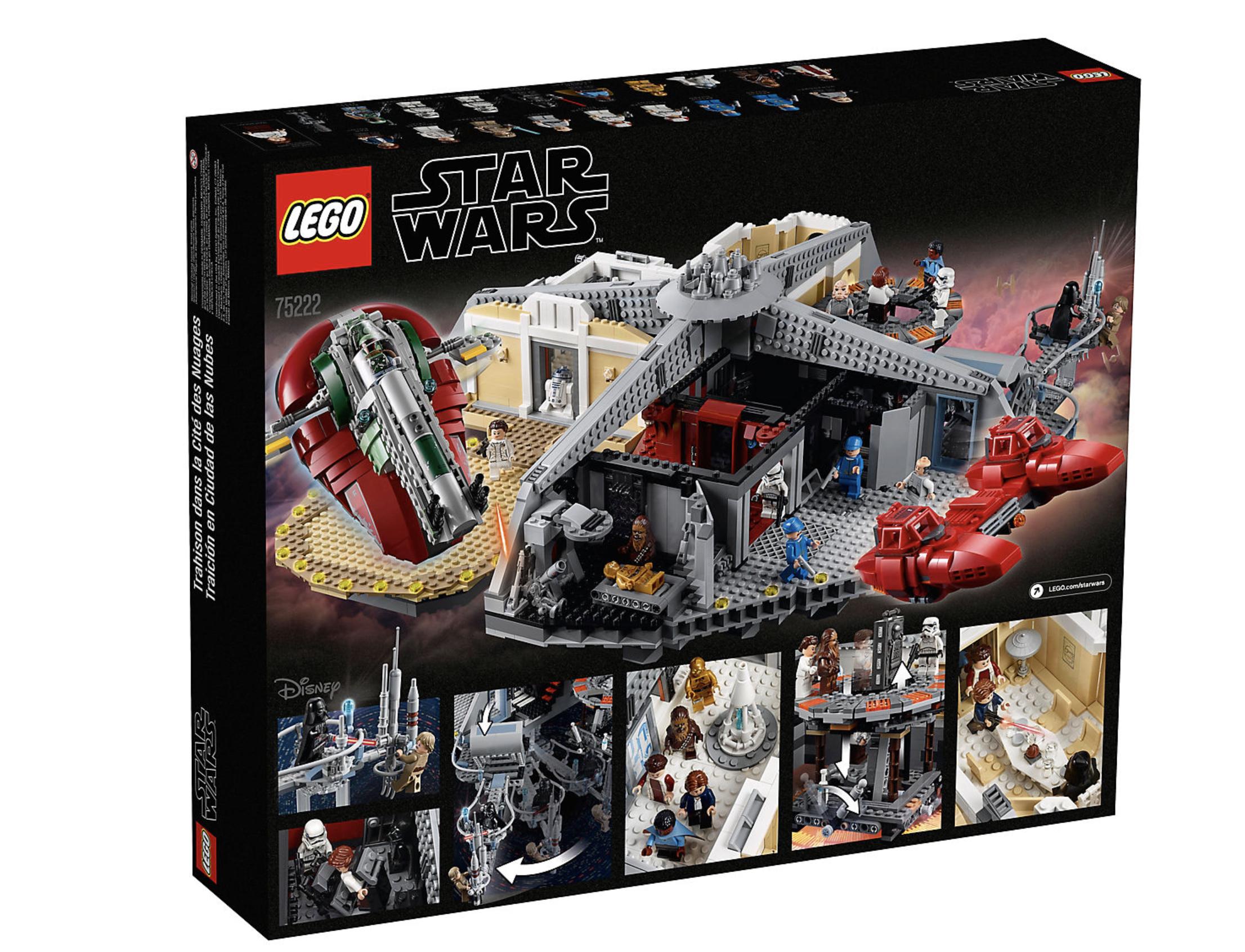 Darth Vader minifigure from set 75222 Betrayal at Cloud City Lego Star Wars